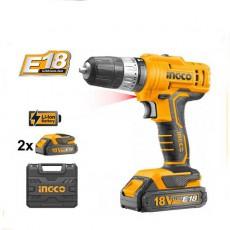 სახრახნისი INGCO 18V CDLI1801