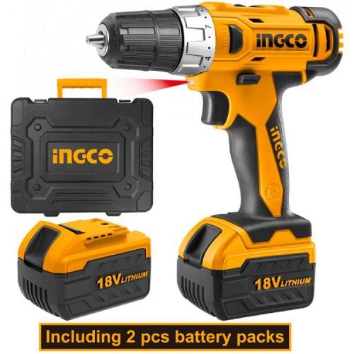 სახრახნისი INGCO 18V CDLI228180