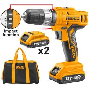 სახრახნისი INGCO 12V CIDLI1222