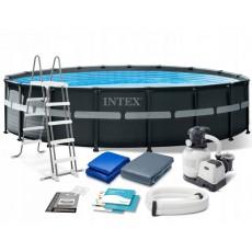 კარკასული აუზი INTEX ULTRA XTR FRAME 26732 (549x132სმ)