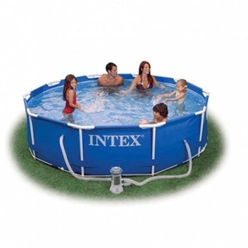 კარკასული აუზი INTEX 28202 (305x76სმ) ფილტრით
