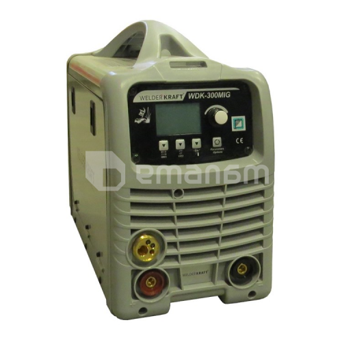 პროფესიონალური ნახევრადავტომატური ინვერტორი კემპი Welder Kraft WDK-300MIG