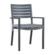 სკამი Mayfair Dining Chair With Cushion gunmetal