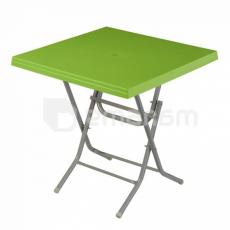 მაგიდა გასაშლელი LADIN Green 75x75