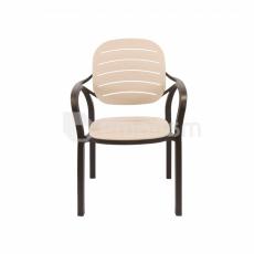 სკამი პლასტმასის Comfort Time CT023-RUMBA antracite
