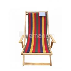 სკამი-შეზლონგი 1.25x50სმ წიფელა