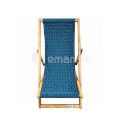 სკამი-შეზლონგი 105x45სმ მურყანი