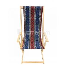 სკამი-შეზლონგი 125x50სმ წიფელა