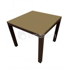 მაგიდა Begonya Rattan 87x87x75 სმ