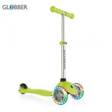 სკუტერი GLOBBER PRIMO LIGHTS LIME GREEN 423-106-2