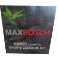 ქვაბების ნაკრები MAXBOSCH 8 PCS