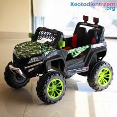 საბავშვო ელექტრო მანქანა BUGGY JM-1199 SPYDER GREEN